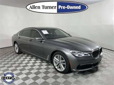 2016 BMW 7 Series for sale at Allen Turner Hyundai in Pensacola FL