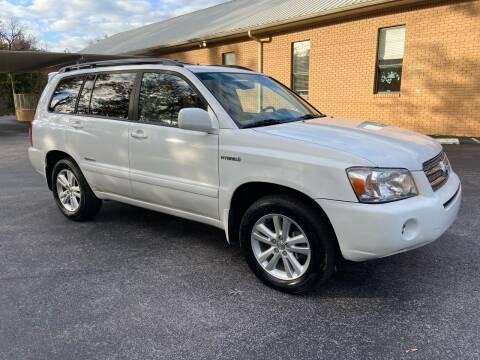 2007 Toyota Highlander Hybrid for sale at Wheel Tech Motor Vehicle Sales in Maylene AL