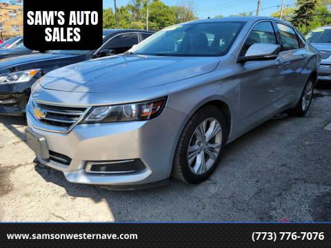 2014 Chevrolet Impala for sale at SAM'S AUTO SALES in Chicago IL