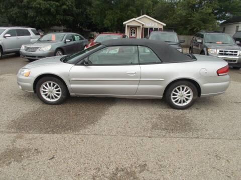 2002 Chrysler Sebring for sale at Jenison Auto Sales in Jenison MI