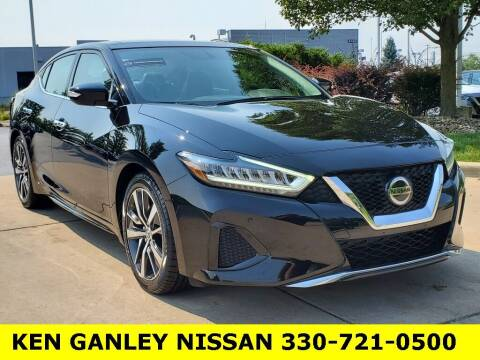 2019 Nissan Maxima for sale at Ken Ganley Nissan in Medina OH