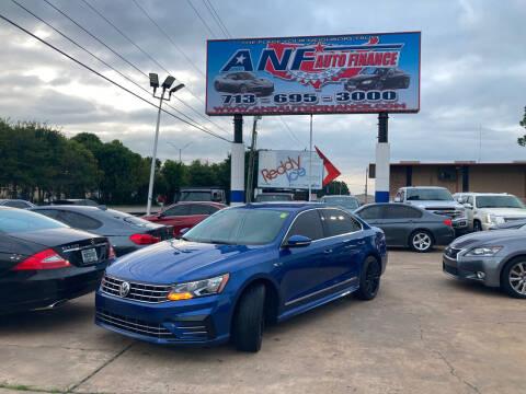2017 Volkswagen Passat for sale at ANF AUTO FINANCE in Houston TX