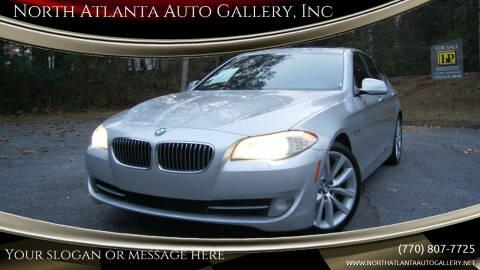 2012 BMW 5 Series for sale at North Atlanta Auto Gallery, Inc in Alpharetta GA