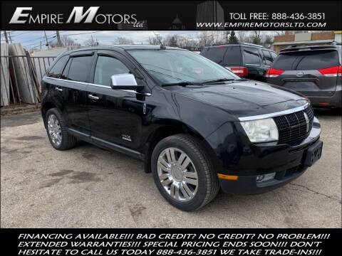 2008 Lincoln MKX for sale at Empire Motors LTD in Cleveland OH