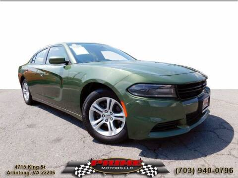 2019 Dodge Charger for sale at PRIME MOTORS LLC in Arlington VA