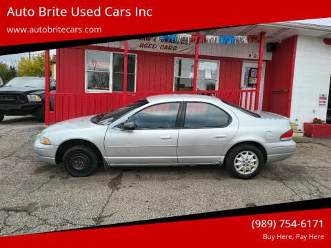 2000 Chrysler Cirrus for sale at Auto Brite Used Cars Inc in Saginaw MI