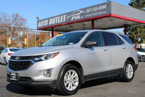 2018 Chevrolet Equinox for sale at Deals N Wheels 306 in Burlington NJ