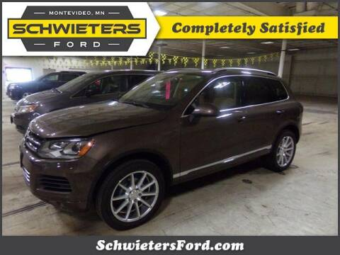 2014 Volkswagen Touareg for sale at Schwieters Ford of Montevideo in Montevideo MN