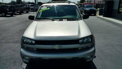 2004 Chevrolet TrailBlazer for sale at Moores Auto Sales in Greeneville TN