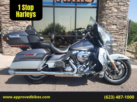 2014 Harley-Davidson Ultra Limited FLHTK for sale at 1 Stop Harleys in Peoria AZ