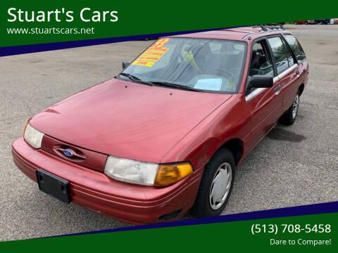 1993 Ford Escort for sale at Stuart's Cars in Cincinnati OH
