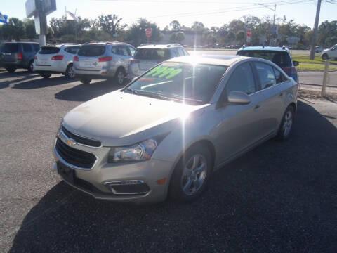 2015 Chevrolet Cruze for sale at ORANGE PARK AUTO in Jacksonville FL