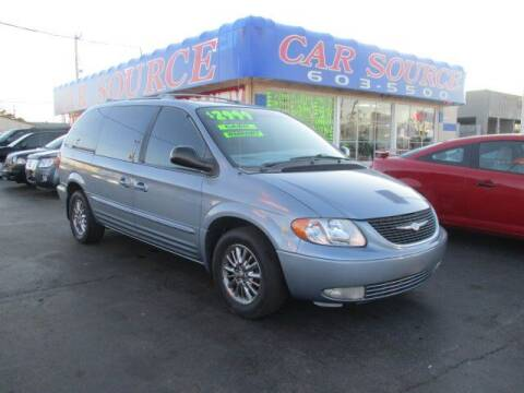 2003 Chrysler Town and Country for sale at CAR SOURCE OKC in Oklahoma City OK