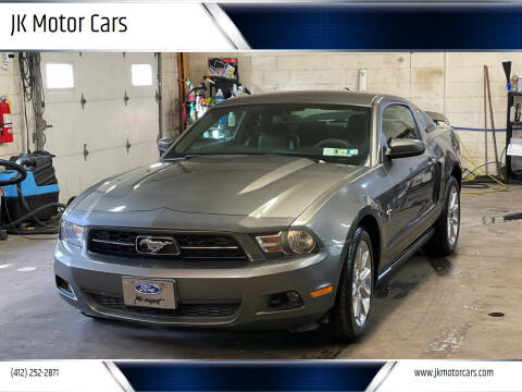 2010 Ford Mustang for sale at JK Motor Cars in Pittsburgh PA