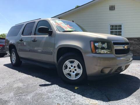 2007 Chevrolet Suburban for sale at No Full Coverage Auto Sales in Austell GA
