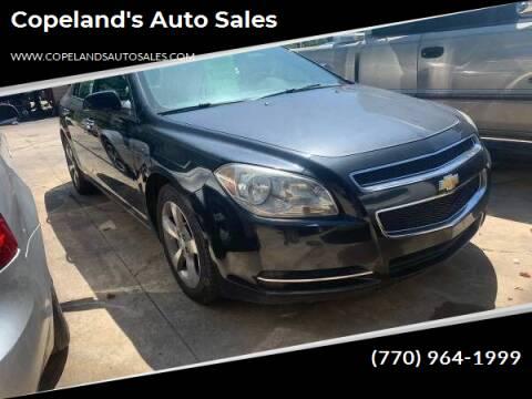 2012 Chevrolet Malibu for sale at Copeland's Auto Sales in Union City GA