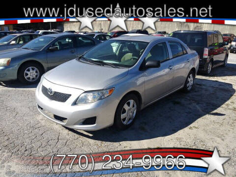 2009 Toyota Corolla for sale at J D USED AUTO SALES INC in Doraville GA