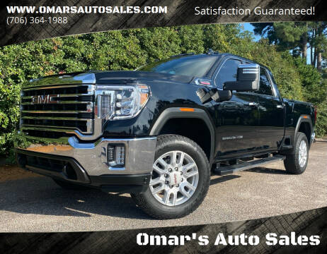 2021 GMC Sierra 2500HD for sale at Omar's Auto Sales in Martinez GA