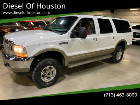 2001 Ford Excursion for sale at Diesel Of Houston in Houston TX