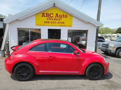 2014 Volkswagen Beetle for sale at ABC AUTO CLINIC - Chubbuck in Chubbuck ID