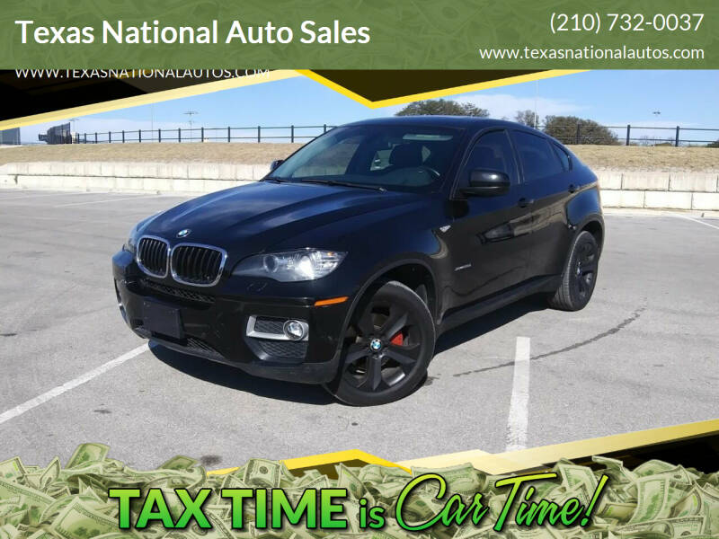2014 BMW X6 for sale at Texas National Auto Sales in San Antonio TX