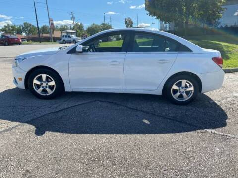 2012 Chevrolet Cruze for sale at VENTURE MOTORS in Wickliffe OH