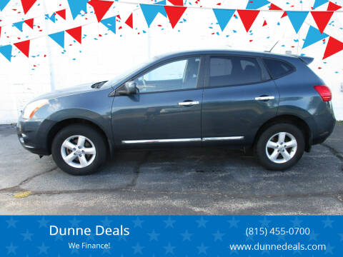 2013 Nissan Rogue for sale at Dunne Deals in Crystal Lake IL