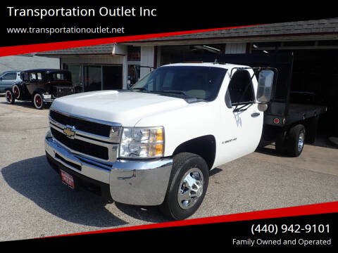 2009 Chevrolet Silverado 3500HD CC for sale at Transportation Outlet Inc in Eastlake OH