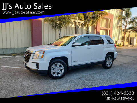 2016 GMC Terrain for sale at JJ's Auto Sales in Salinas CA