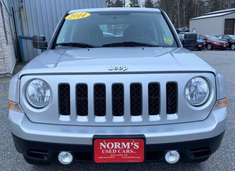 2014 Jeep Patriot for sale at NORM'S USED CARS INC - Trucks By Norm's in Wiscasset ME