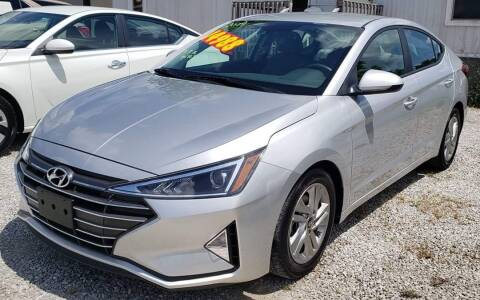 2019 Hyundai Elantra for sale at COOPER AUTO SALES in Oneida TN