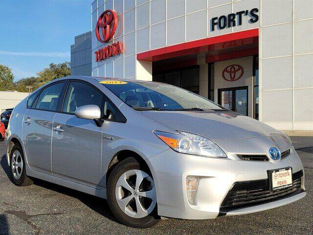 2014 Toyota Prius for sale at Auto Smart of Pekin in Pekin IL