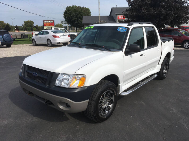 2004 Ford Explorer Sport Trac for sale at JACK'S AUTO SALES in Traverse City MI