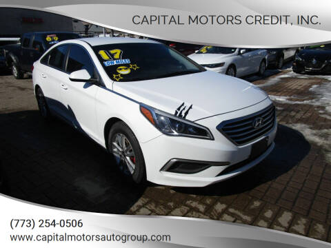 2017 Hyundai Sonata for sale at Capital Motors Credit, Inc. in Chicago IL