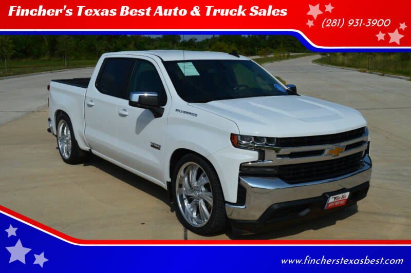 2019 Chevrolet Silverado 1500 for sale at Fincher's Texas Best Auto & Truck Sales in Tomball TX