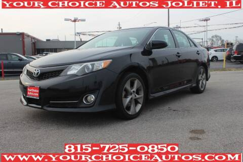 2012 Toyota Camry for sale at Your Choice Autos - Joliet in Joliet IL