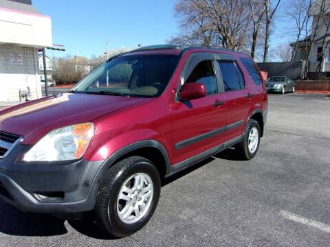 2004 Honda CR-V for sale at MIRACLE AUTO SALES in Cranston RI