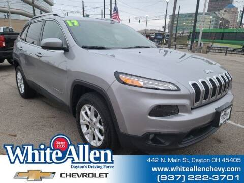 2017 Jeep Cherokee for sale at WHITE-ALLEN CHEVROLET in Dayton OH