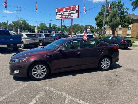 2014 Kia Optima for sale at Christy Motors in Crystal MN