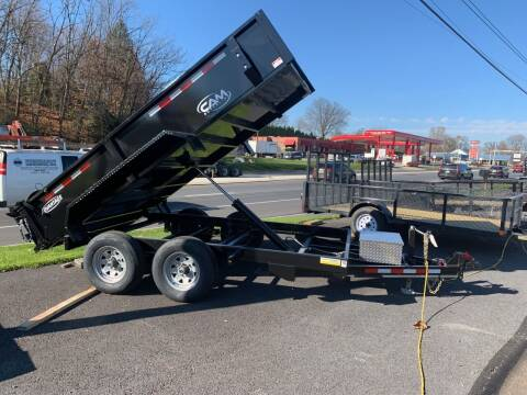 2021 Cam Superline 6x12 Dump Trailer for sale at Smart Choice 61 Trailers in Shoemakersville PA