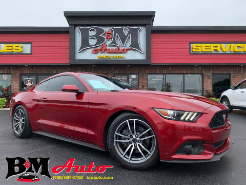 2017 Ford Mustang for sale at B & M Auto Sales Inc. in Oak Forest IL