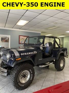 1984 Jeep Scrambler for sale at PITTMAN MOTOR CO in Lindale TX