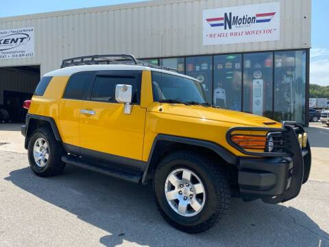 2007 Toyota FJ Cruiser for sale at N Motion Sales LLC in Odessa MO