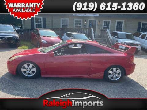 2000 Toyota Celica for sale at Raleigh Imports in Raleigh NC