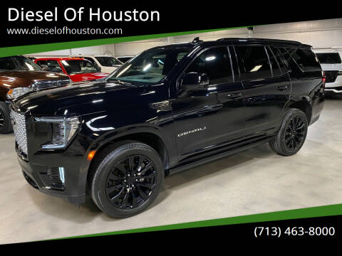 2021 GMC Yukon for sale at Diesel Of Houston in Houston TX
