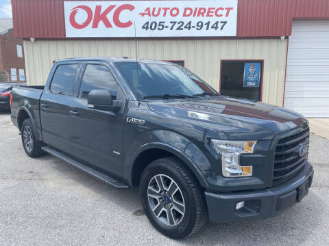 2016 Ford F-150 for sale at OKC Auto Direct in Oklahoma City OK