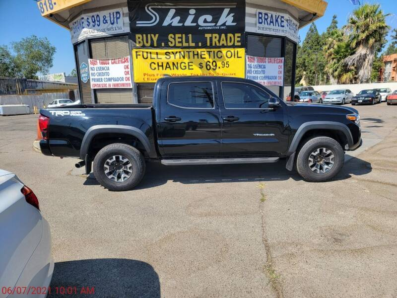 2019 Toyota Tacoma for sale at Shick Automotive Inc in North Hills CA
