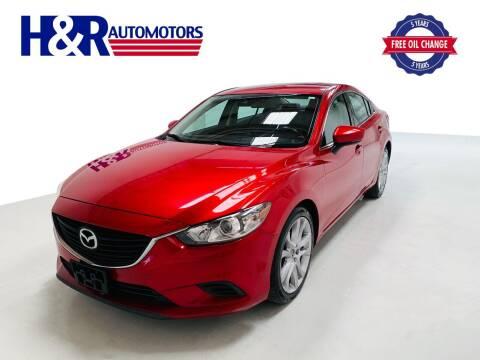2017 Mazda MAZDA6 for sale at H&R Auto Motors in San Antonio TX