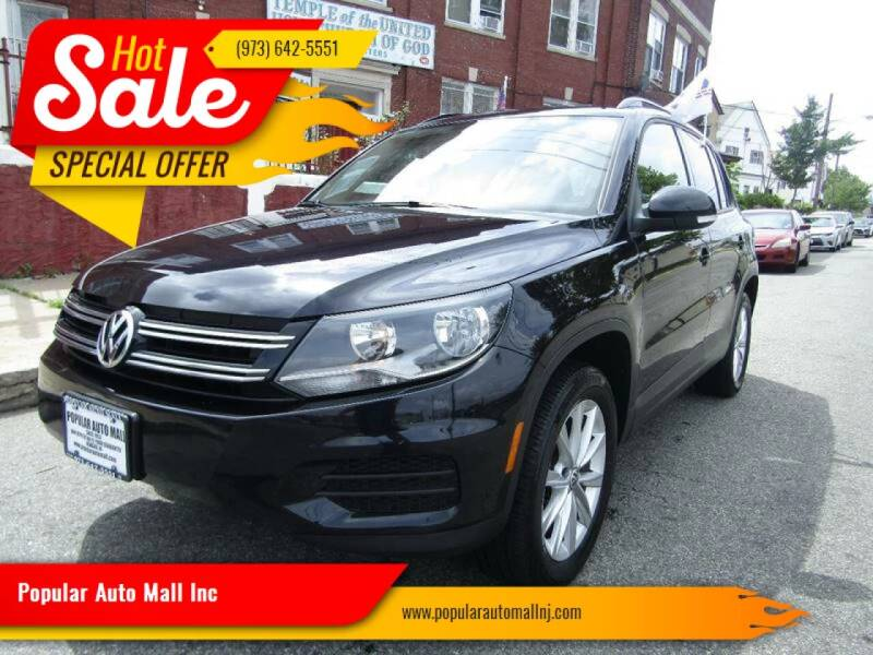 2015 Volkswagen Tiguan for sale at Popular Auto Mall Inc in Newark NJ
