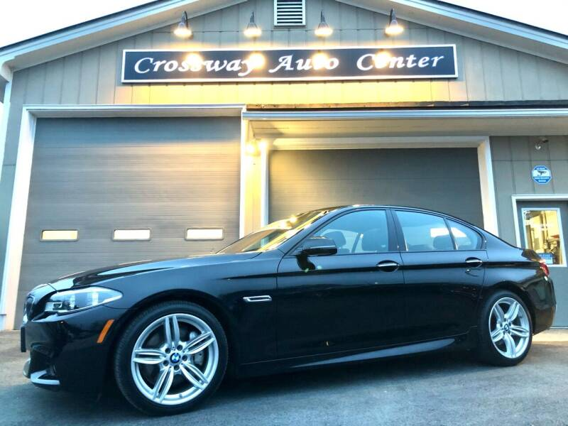 2014 BMW 5 Series for sale at CROSSWAY AUTO CENTER in East Barre VT
